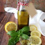 Liquore al basilico e limone