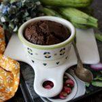Tortini fondenti zucchine e cioccolato