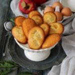 Madeleines aux pommes, ricetta francese