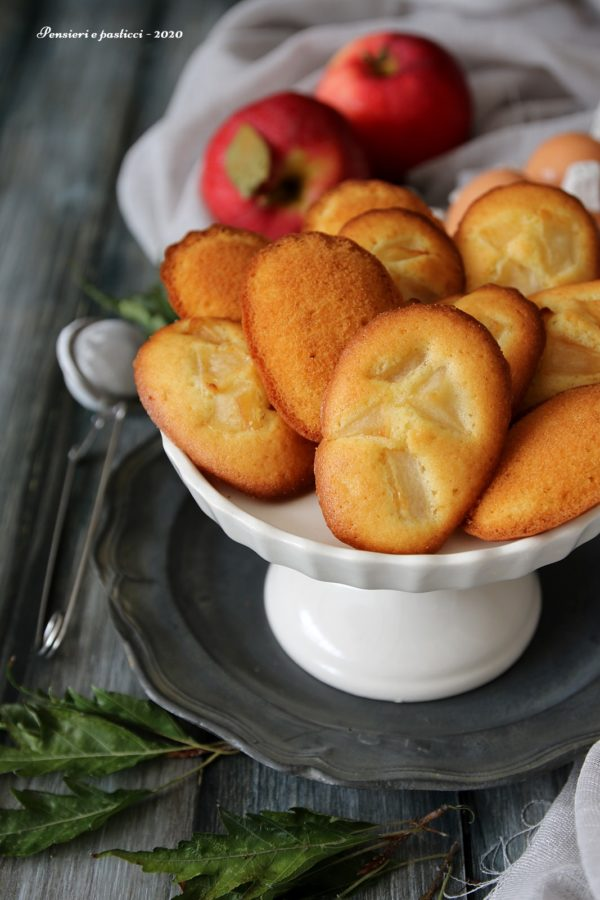 madeleines aux pommes