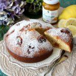 Torta con marmellata di mandarino e curcuma