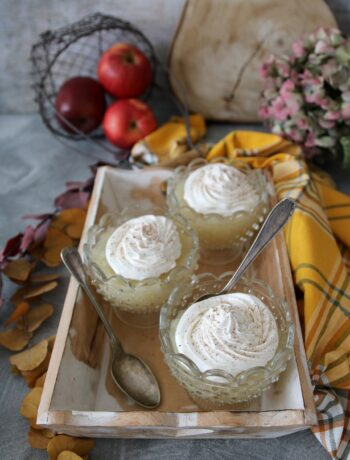 Kisél russo di mele