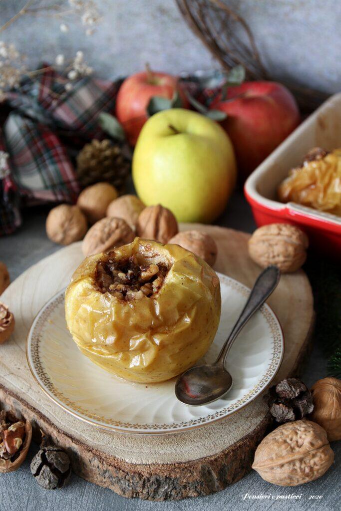 mele al forno alla russa
