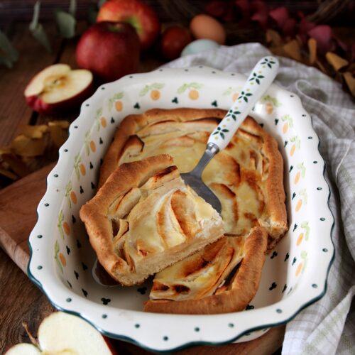 torta veja alle mele del Canton Ticino