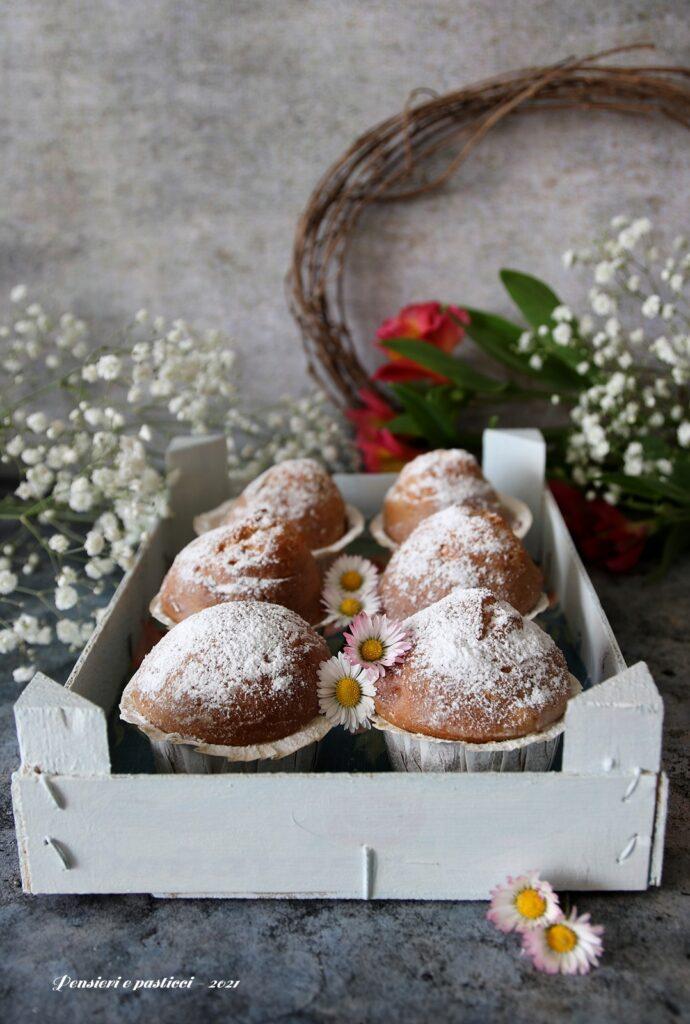 muffins alla vaniglia e caffè