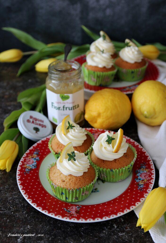 cupcakes al cocco e limone