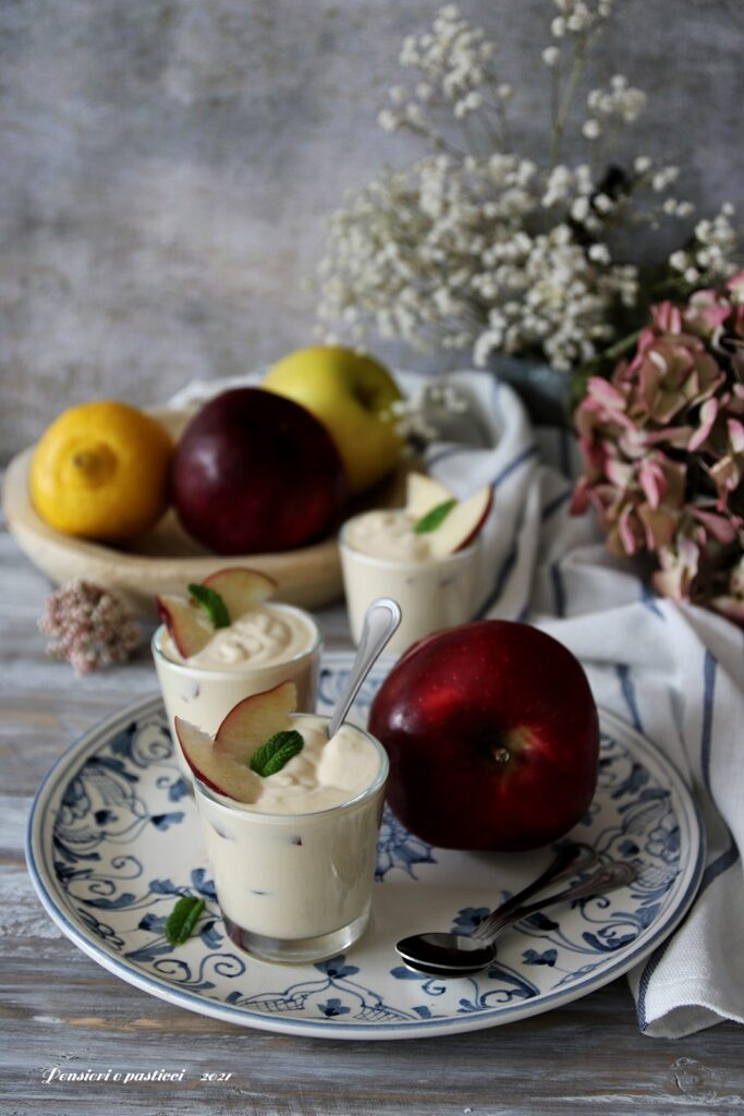 crema soffice al succo di mela