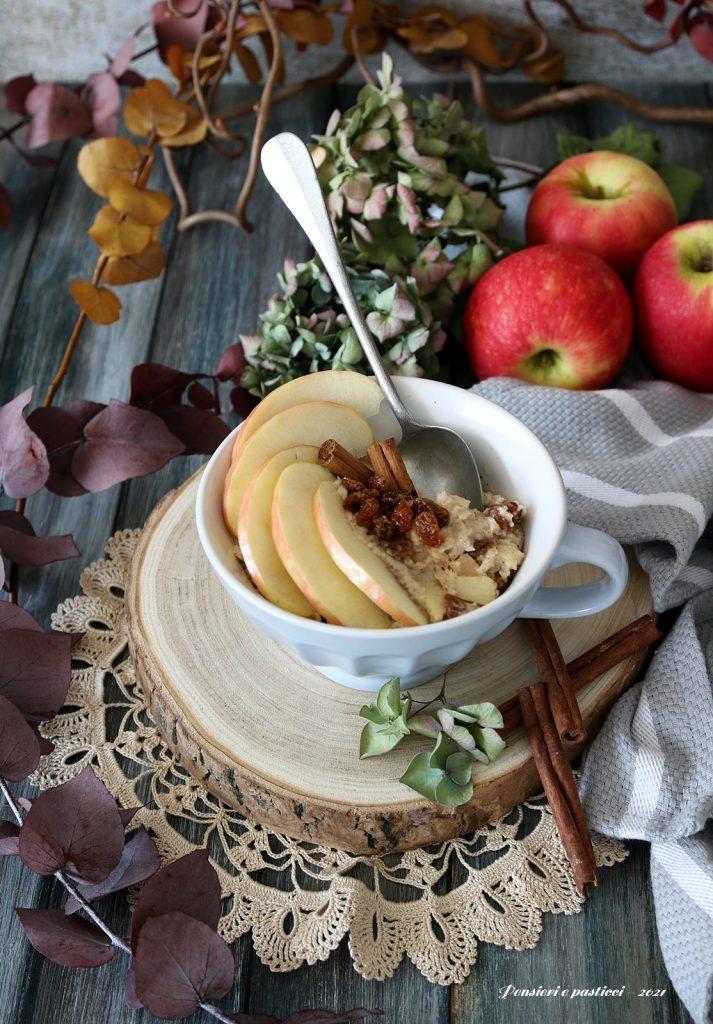 porridge alle mele