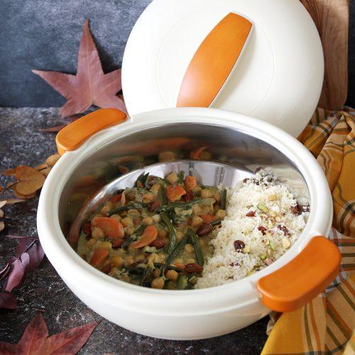 curry di verdure e latte di cocco
